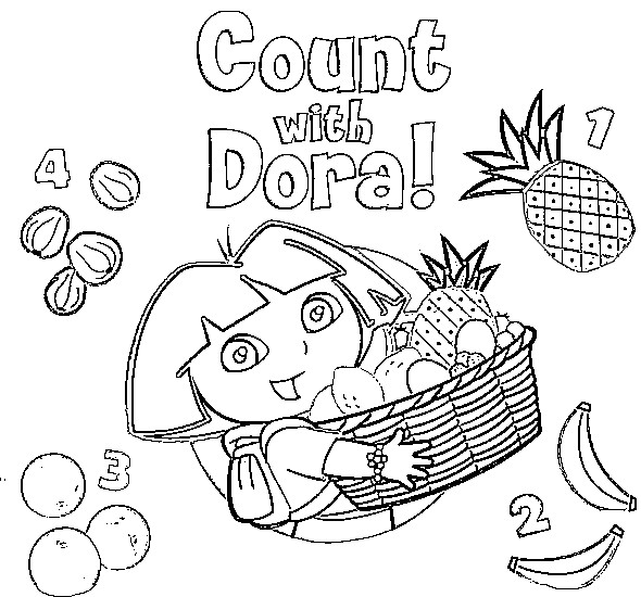 Crayola Dora Mermaid Coloring Game Coloring Pages
